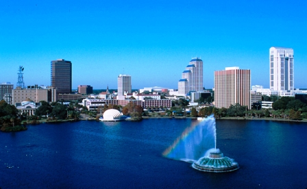 Picture of Lake Eola